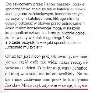 Jarosław Milewczyk pisze książkę o apostazji