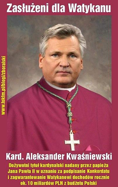 Aleksander kardynał Kwaśniewski