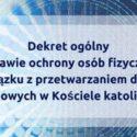 """KEP ogłosił """"wewnętrzny"""" dekret o """"kościelnym GIODO"""""""
